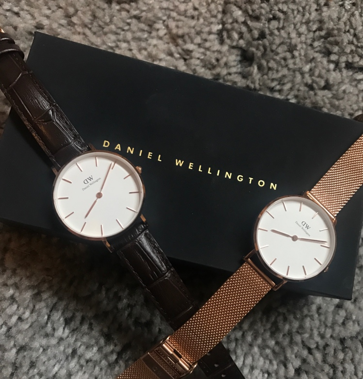 b18bb54555b3 I received the FAB Melrose Petite rose gold watch. I love how dainty it is